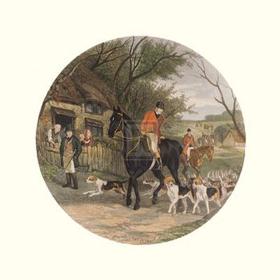 Here Come the Hounds-William Joseph Shayer-Art Print