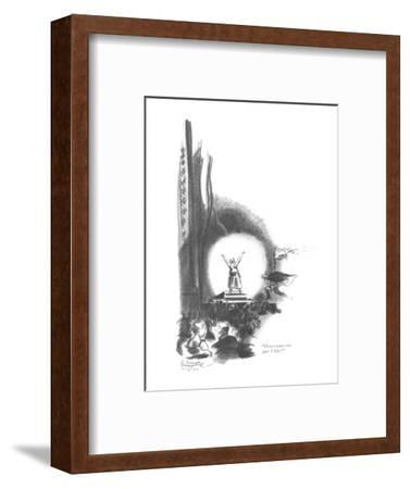 """""""Here comes the part I like!"""" - New Yorker Cartoon-E. Simms Campbell-Framed Premium Giclee Print"""