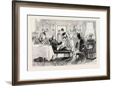 Here I Was Indeed Made Most Comfortable for a Short, a Too Short, Time, 1888--Framed Giclee Print