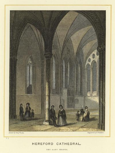 Hereford Cathedral, the Lady Chapel-Benjamin Baud-Giclee Print