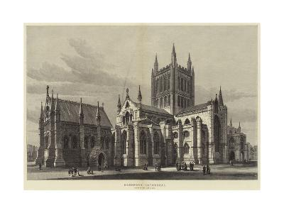 Hereford Cathedral-Samuel Read-Giclee Print