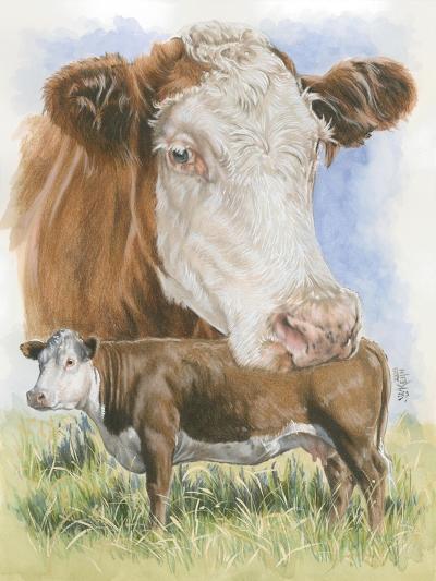 Hereford-Barbara Keith-Giclee Print