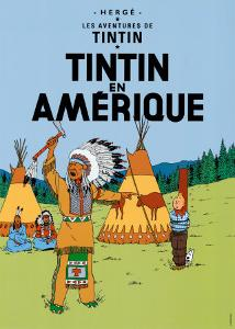 Tintin en Amerique, c.1932 by Herg? (Georges R?mi)