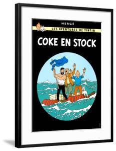 Coke en Stock, c.1958 by Hergé (Georges Rémi)