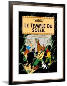 Le Temple du Soleil, c.1949 by Hergé (Georges Rémi)