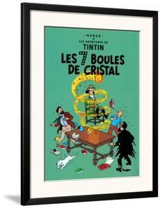 Les 7 Boules de Cristal, c.1948 by Hergé (Georges Rémi)