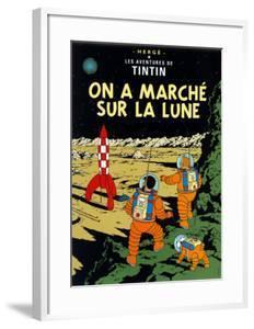 On a Marché sur la Lune, c.1954 by Hergé (Georges Rémi)