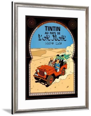 Tintin au Pays de l'Or Noir, c.1950