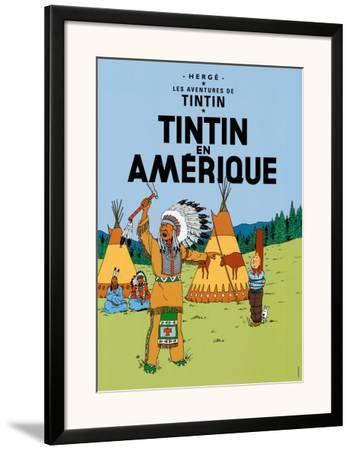 Tintin en Amerique, c.1932