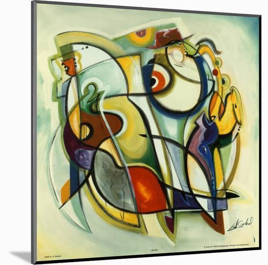 Heritage Blues-Alfred Gockel-Mounted Art Print