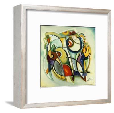 Heritage Blues-Alfred Gockel-Framed Art Print