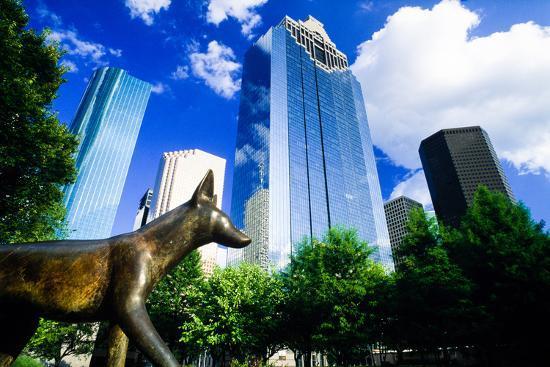 Heritage Park, Houston, Texas--Photographic Print