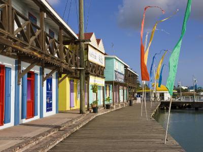 Heritage Quay Shopping District in St. John's, Antigua, Leeward Islands, West Indies, Caribbean-Gavin Hellier-Photographic Print