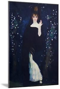 Sony De Klamery Countess of Pradera by Herman Anglada Camarasa