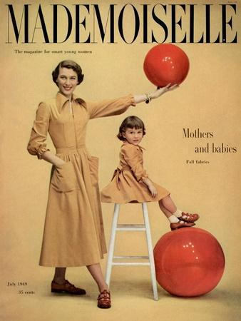 Mademoiselle Cover - July 1949