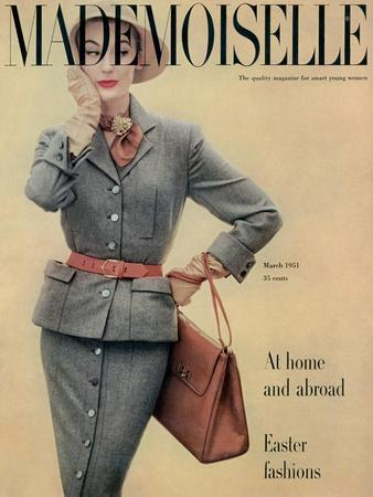 Mademoiselle Cover - March 1951