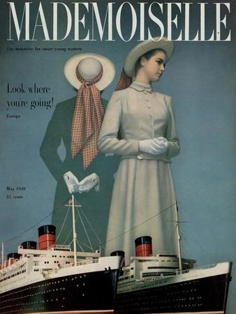 Mademoiselle Cover - May 1949