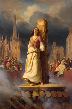 Joan of Arc's Death at the Stake, 1843
