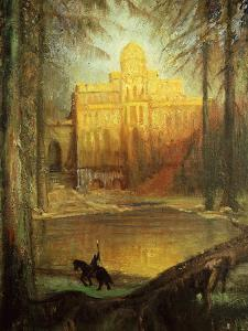 Parsifal, from Eponymous Opera by Richard Wagner, 1813-83 German Composer by Hermann Hendrich