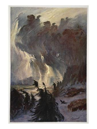 Ride of the Valkyries, 1906