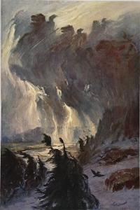 Ride of the Valkyries, 1906 by Hermann Hendrich
