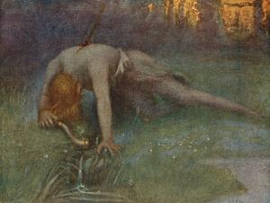 The Death of Siegfried by Hermann Hendrich