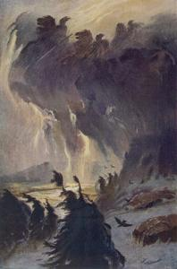 The Ride of the Valkyries by Hermann Hendrich