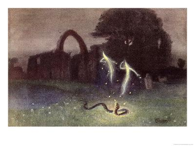 Will-O'-The-Wisp and Snake