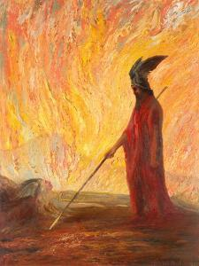 Wotan's Farewell and Magic Fire by Hermann Hendrich