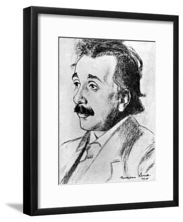 Albert Einstein (1879-195), German-Swiss Mathematician and Theoretical Physicist, 1920
