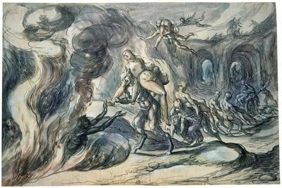 Eurydice in Hell, Early 17th Century