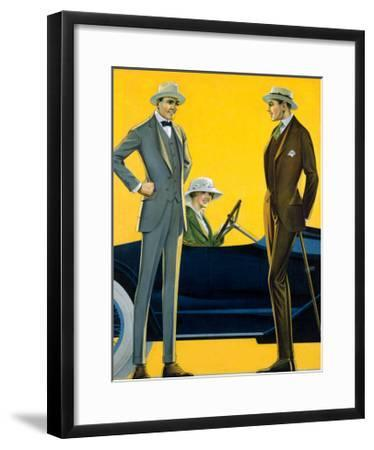 Hermanwile Clothes--Framed Giclee Print