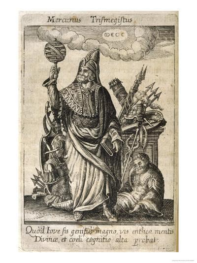 Hermes Trismegistus, Perceived by Neoplatonists as the Presiding Deity of Alchemy--Giclee Print