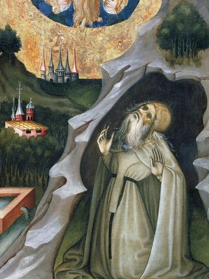 Hermit in Ecstasy, Detail from the Altarpiece of St Mary Magdalene--Giclee Print
