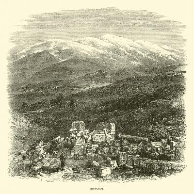 Hermon--Giclee Print