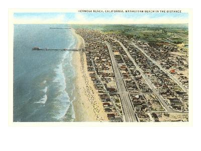 Hermosa Beach, California--Art Print