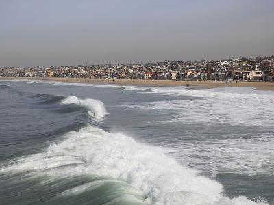 Hermosa Beach, Pacific Ocean, Los Angeles, California, United States of America, North America-Wendy Connett-Photographic Print