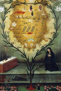 Saint Mary Ann of Jesus of Paredes by Hernando de la Cruz