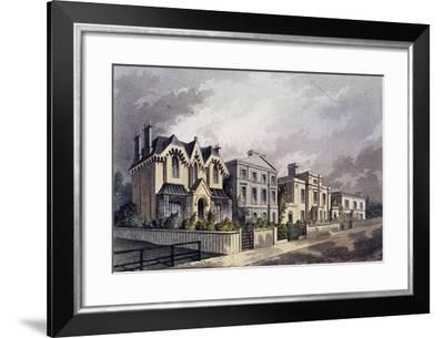 Herne Hill, Camberwell, London, 1825-J Thompson-Framed Giclee Print