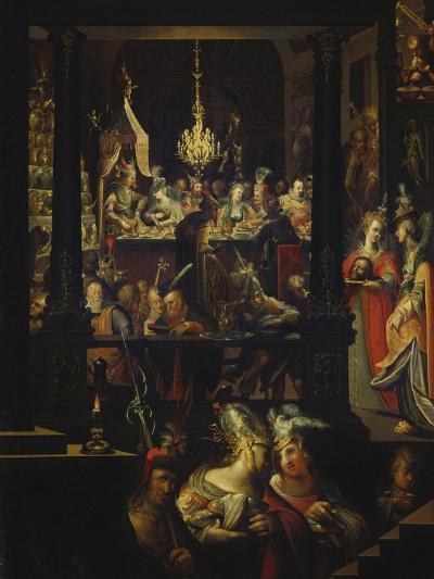 Herod's Feast-Bartholomaeus Strobel-Giclee Print
