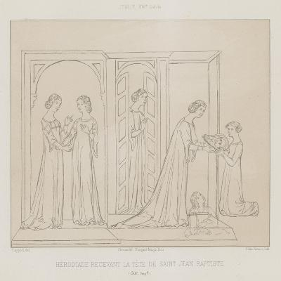 Herodias Receiving the Head of John the Baptist--Giclee Print