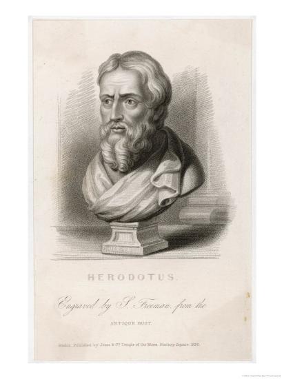 Herodotus Greek Historian-S. Freeman-Giclee Print