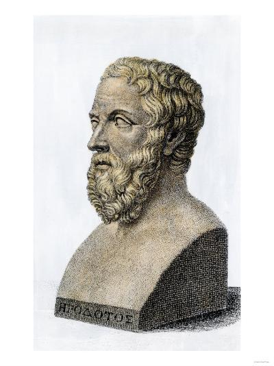 Herodotus, the Father of History--Giclee Print