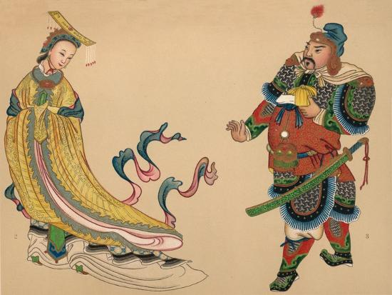 'Heroes and Heroines of Chinese History', c1903, (1904)-Unknown-Giclee Print