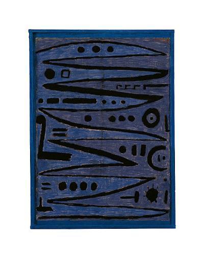 Heroic Strokes of the Bow, c.1928-Paul Klee-Art Print