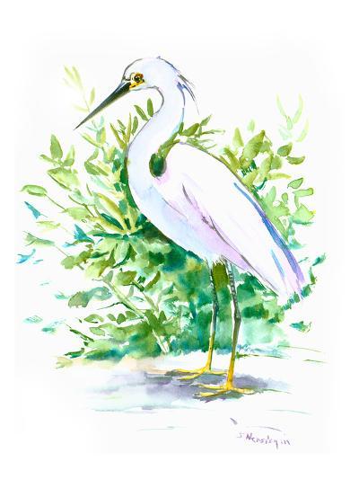 Heron 6-Suren Nersisyan-Art Print