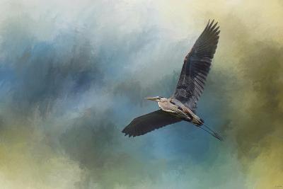 Heron in the Midst-Jai Johnson-Giclee Print