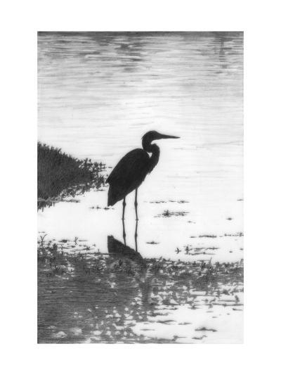 Heron--Art Print