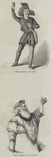 Herr Staudigl--Giclee Print