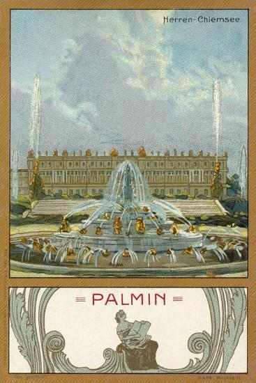 Herrenchiemsee Palace, Bavaria--Giclee Print